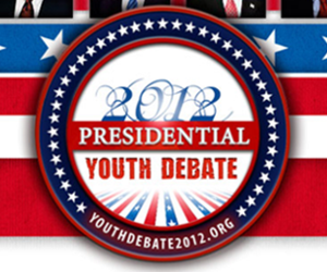 Presidential Youth Debate 2012 website