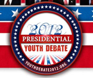Presidential Youth Debate 2012 website